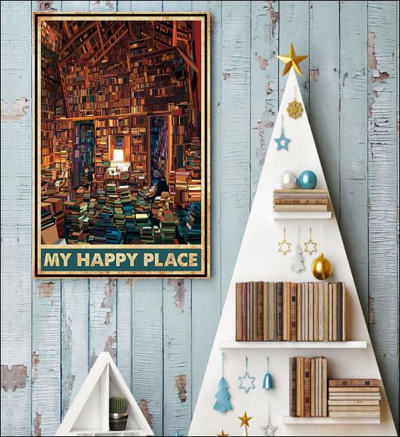 Library my happy place poster 3