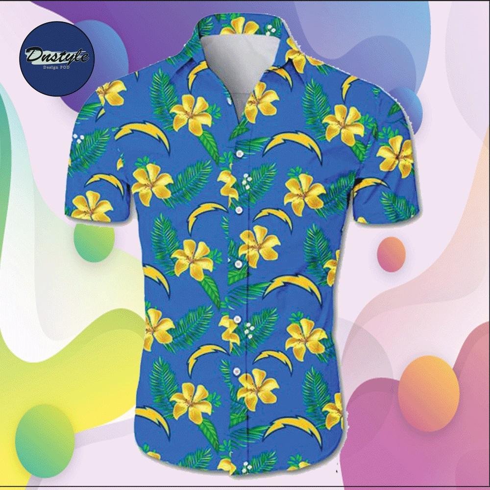 Los Angeles Chargers hawaiian shirt