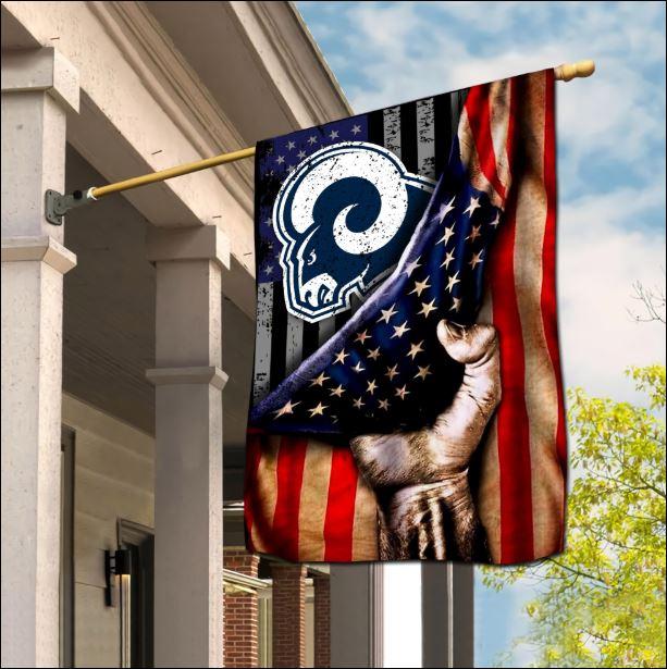 Los Angeles Rams American flag