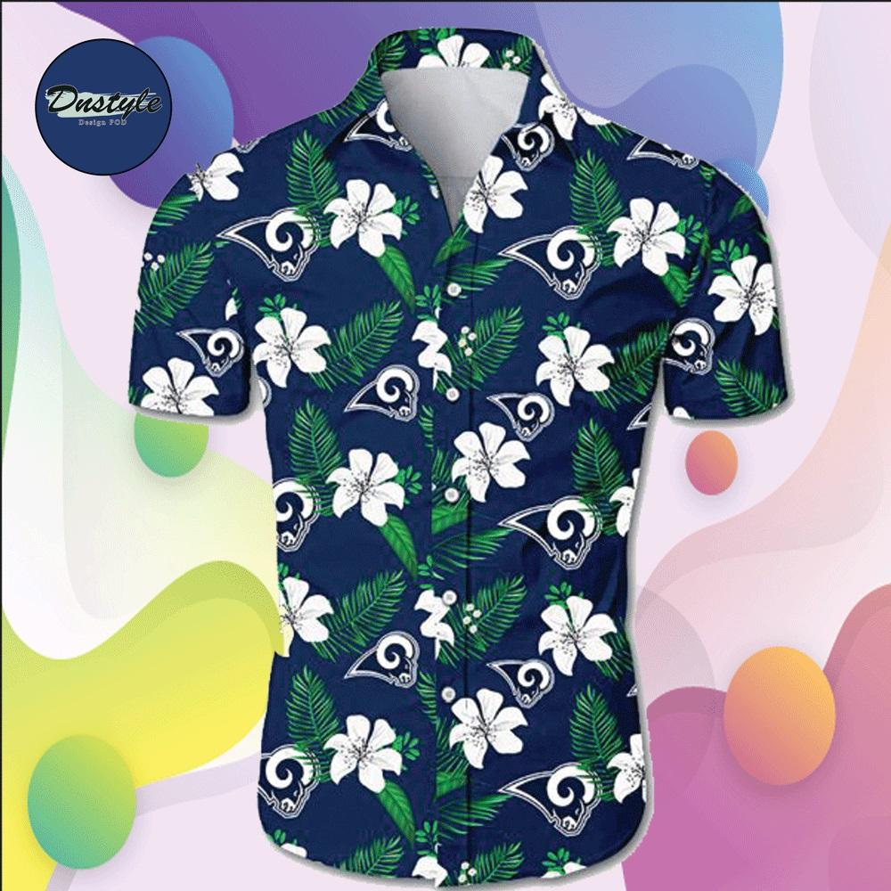 Los Angeles Rams hawaiian shirt