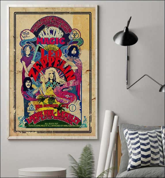 Magic featuring Led Zeppelin poster 1