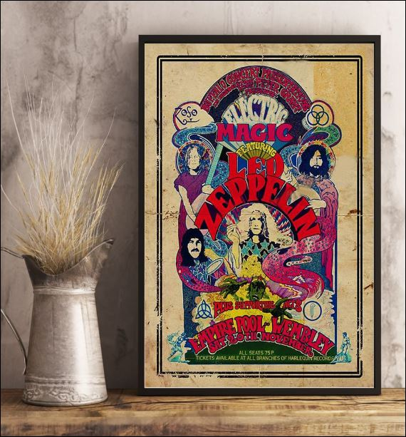 Magic featuring Led Zeppelin poster 3