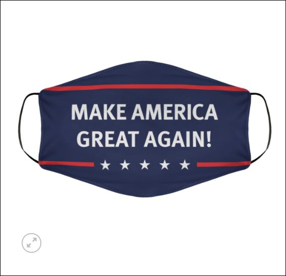 Make American great again face mask