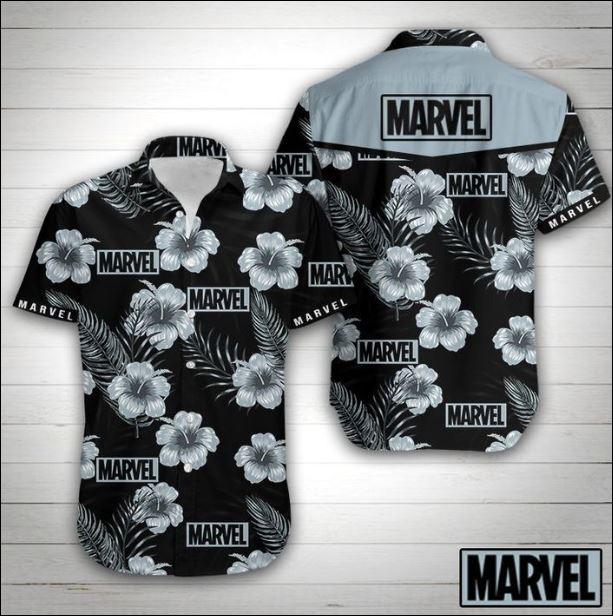 Marvel hawaiian shirt