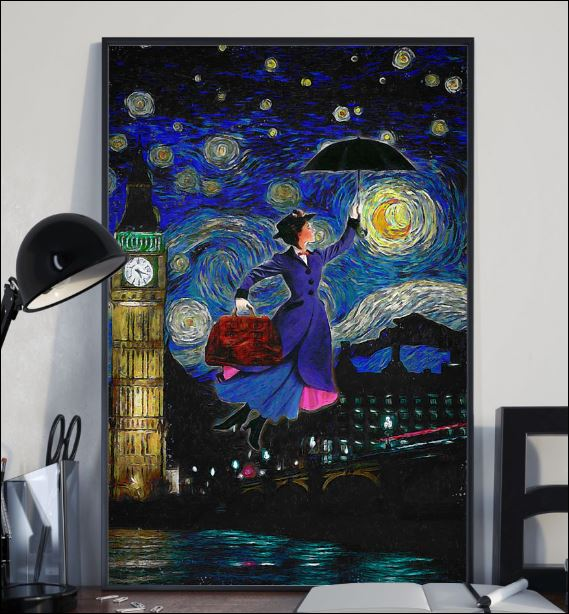 Mary Poppins art poster 1