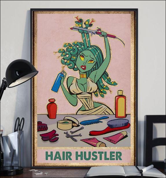 Medusa hair hustler poster 2