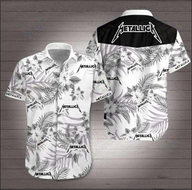 Metallica Hawaiian 3D Shirt