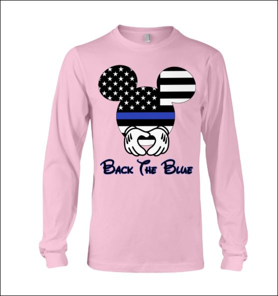 Mickey Mouse black the blue long sleeved