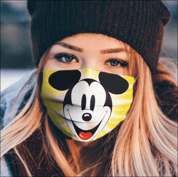 Mickey Mouse cartoon face mask