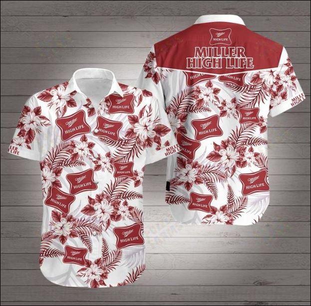 Miller High Life Hawaiian 3D Shirt