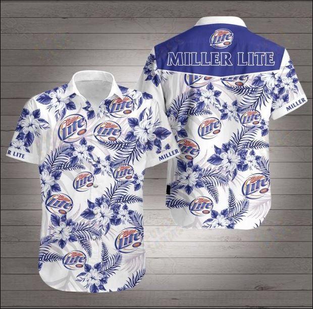 Miller Lite 3D Hawaiian shirt