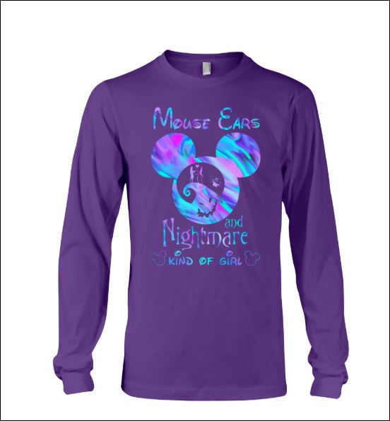 Mouse ears and nightmare kind of girl long sleeved