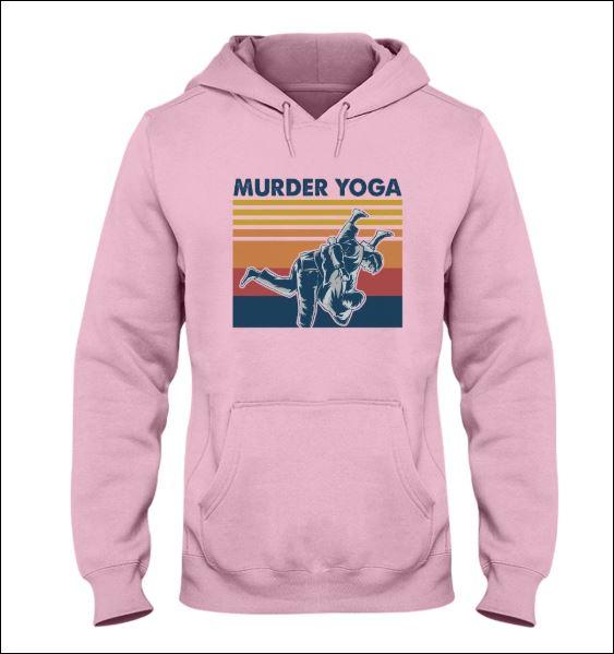 Murder Yoga vintage hoodie
