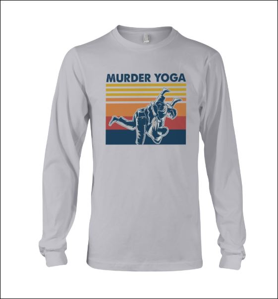 Murder Yoga vintage long sleeved