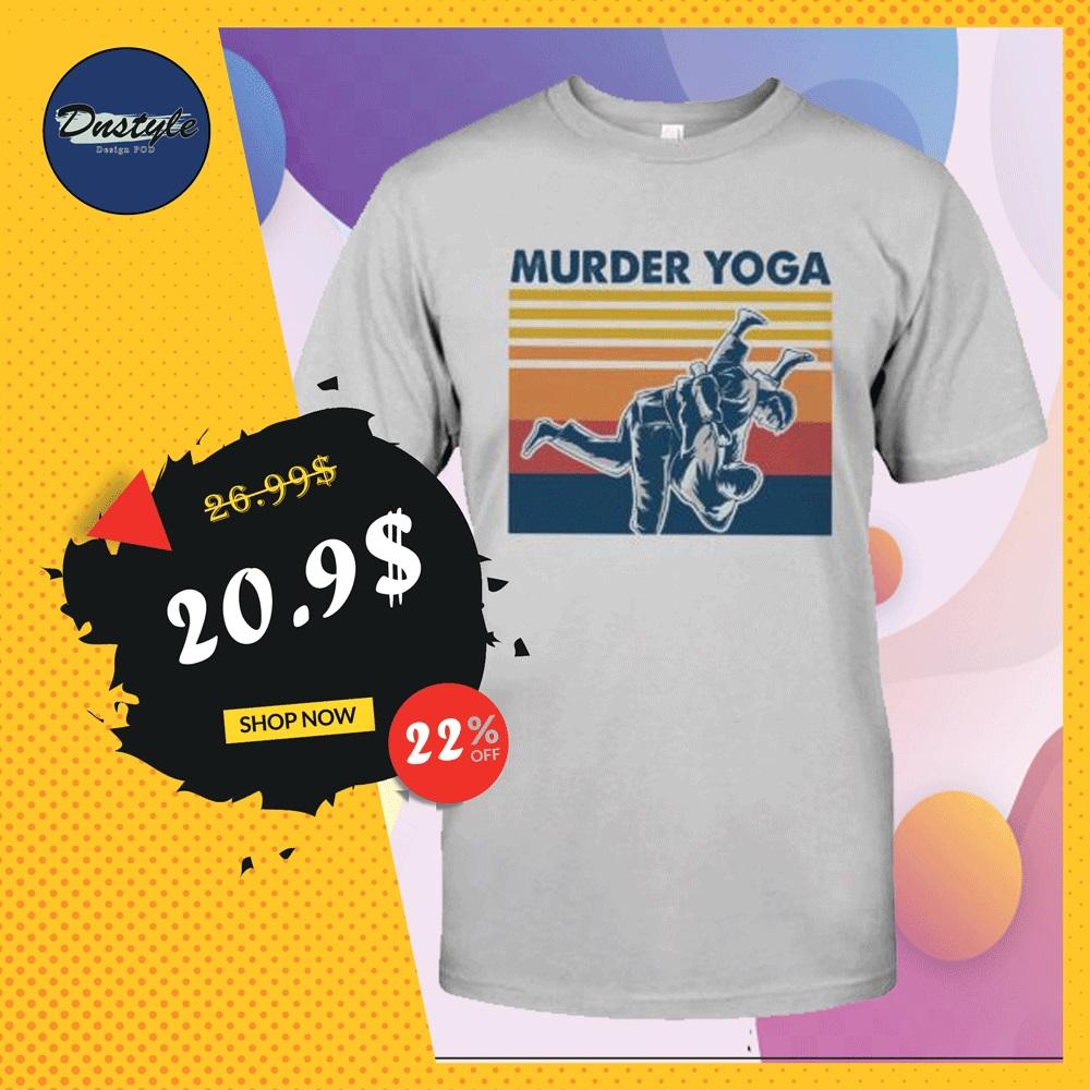 Murder Yoga vintage shirt
