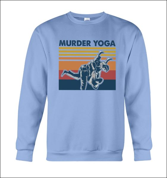Murder Yoga vintage sweater