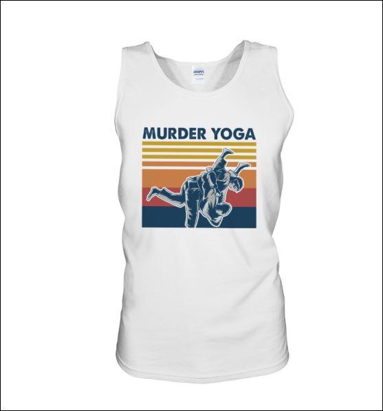Murder Yoga vintage tank top
