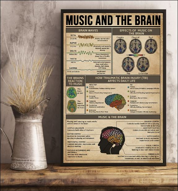 Music and the brain poster 1