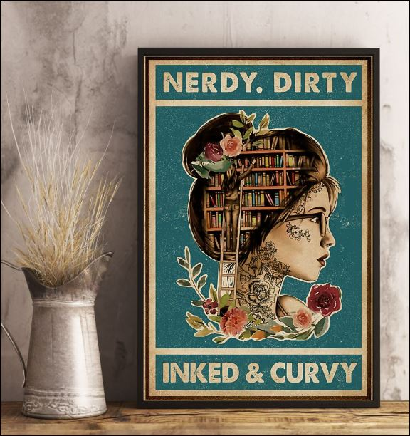 Nerdy dirty inked and curvy poster 1