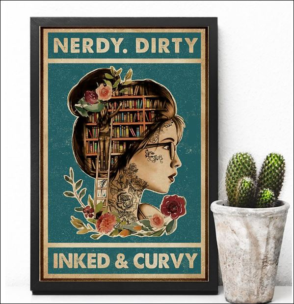 Nerdy dirty inked and curvy poster 2