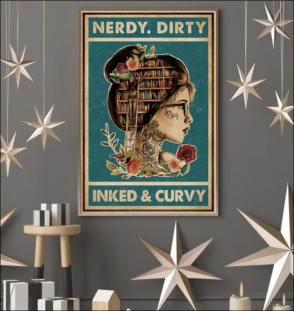 Nerdy dirty inked and curvy poster 3