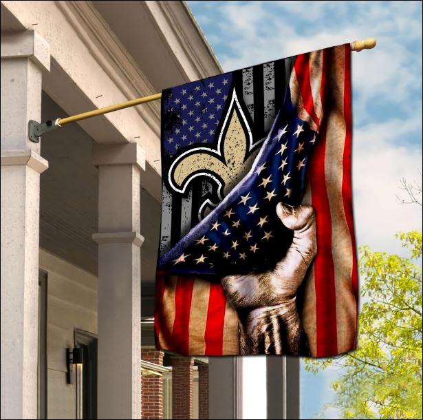 New Orleans Saints American flag