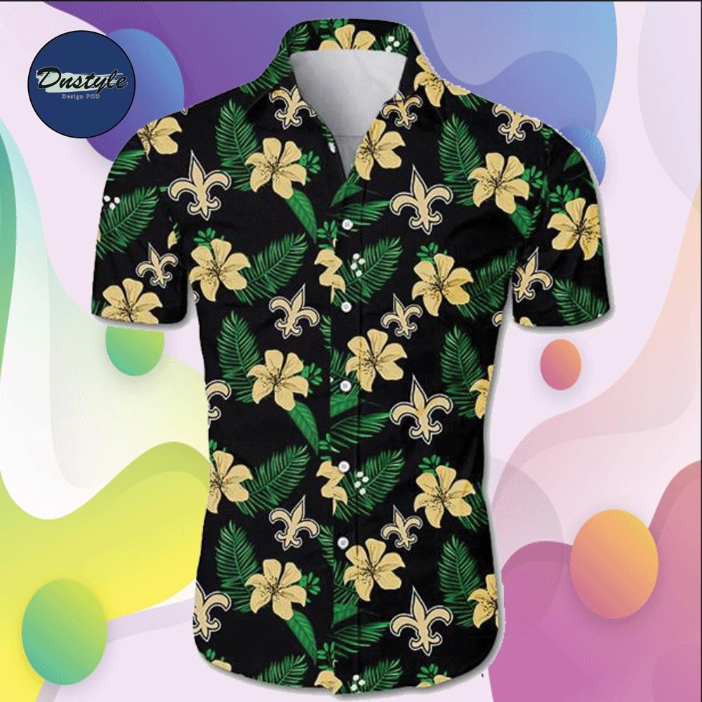 New Orleans Saints hawaiian shirt