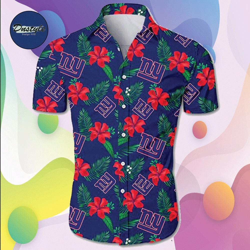 New York Giants hawaiian shirt