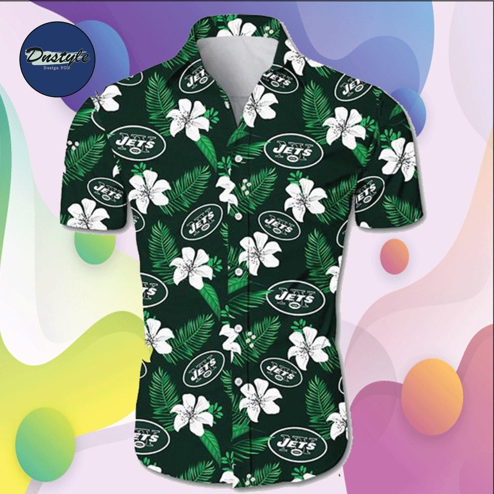 New York Jets hawaiian shirt
