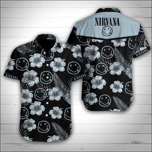 Nirvana hawaiian shirt