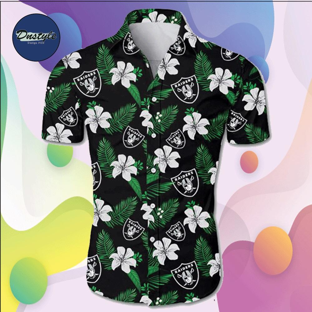 Oakland Raiders hawaiian shirt