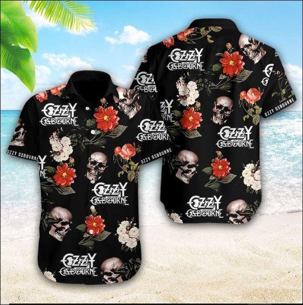 Ozzy Osbourne hawaiaan shirt