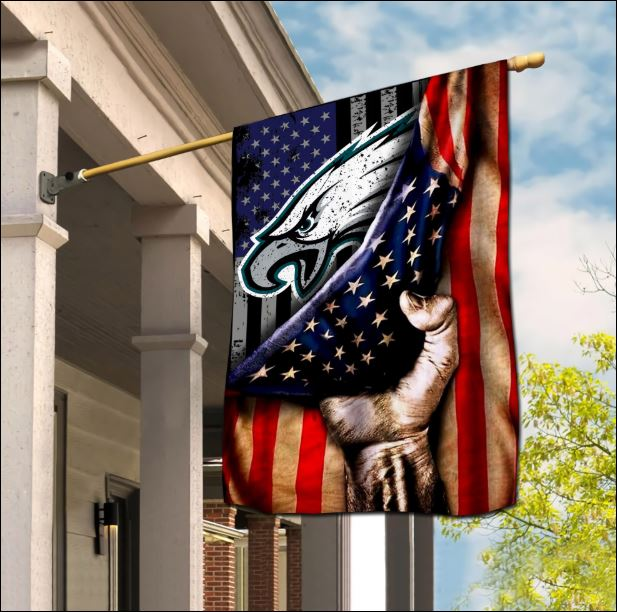 Philadelphia Eagles American flag