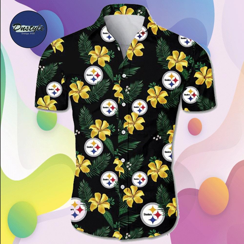 Pittsburgh Steelers hawaiian shirt