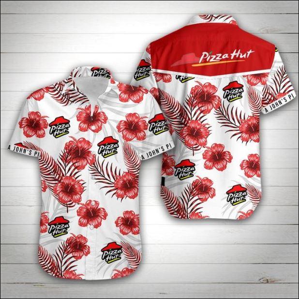 Pizza Hut hawaiian shirt
