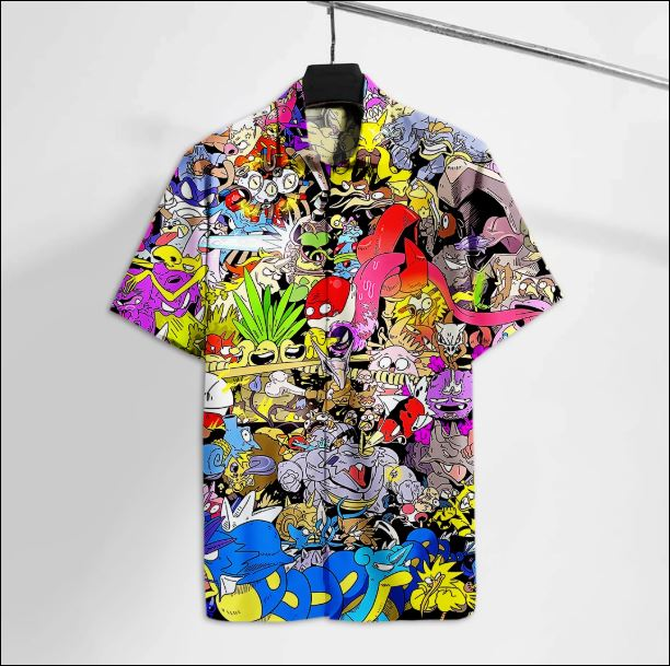 Pokemon hawaiian shirt