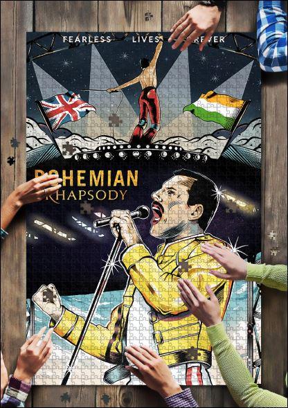 Queen Bohemian Rhapsody jigsaw puzzle