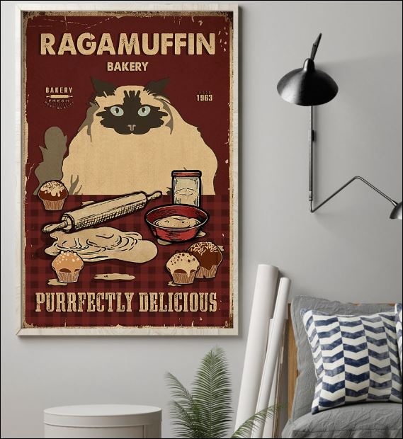 Ragamuffin bakery purrfectly delicious poster 1