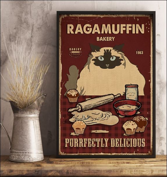 Ragamuffin bakery purrfectly delicious poster 3