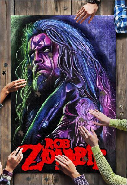 Rob Zombie jigsaw puzzle
