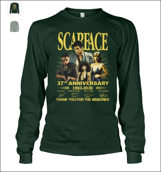 Scarface 37th anniversary long sleeved