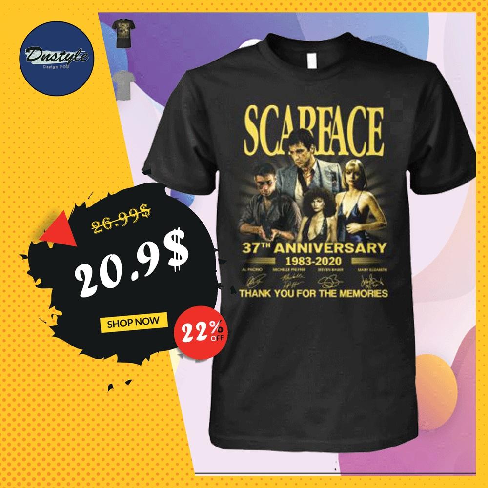 Scarface 37th anniversary shirt