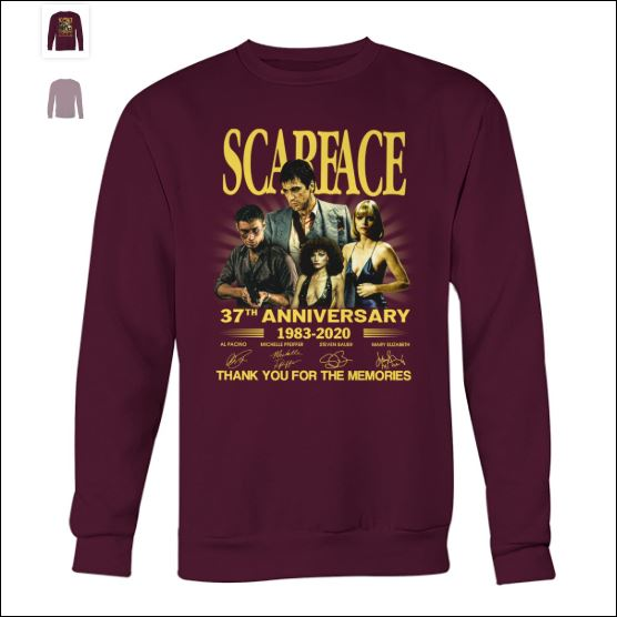 Scarface 37th anniversary sweater