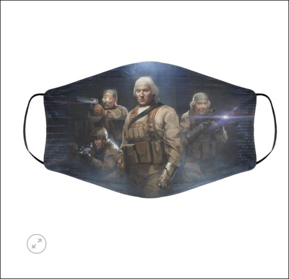 Seal team 1776 face mask