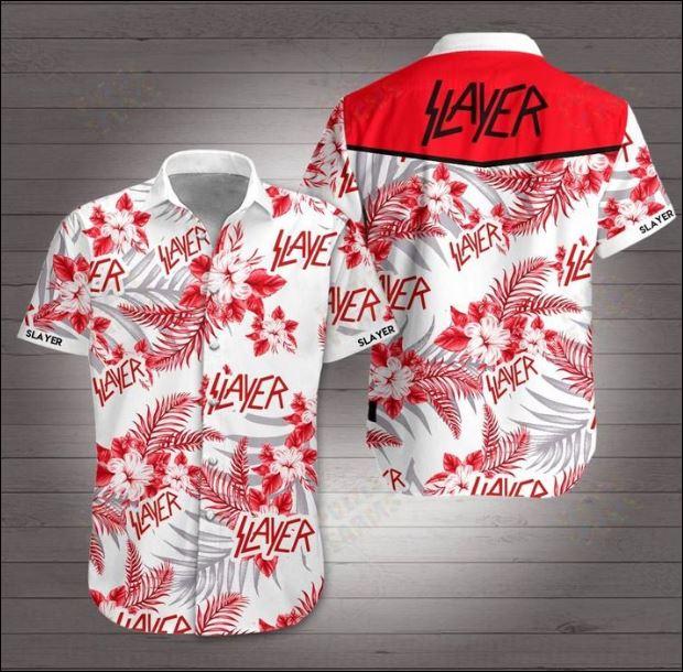 Slayer Hawaiian 3D Shirt
