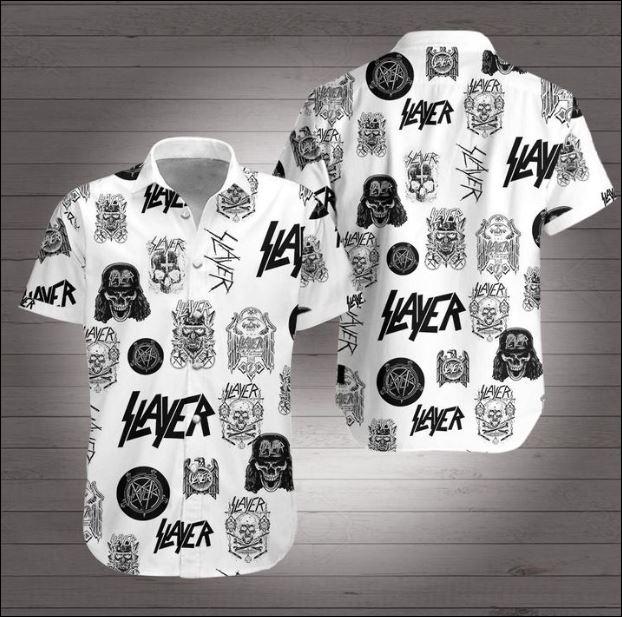Slayer band Hawaiian 3D Shirt