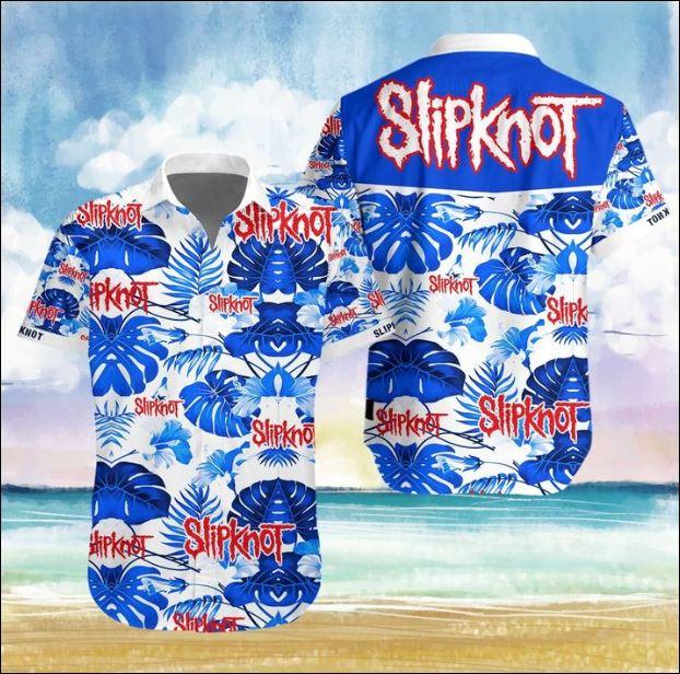 Slipknot band Hawaiian 3D shirt