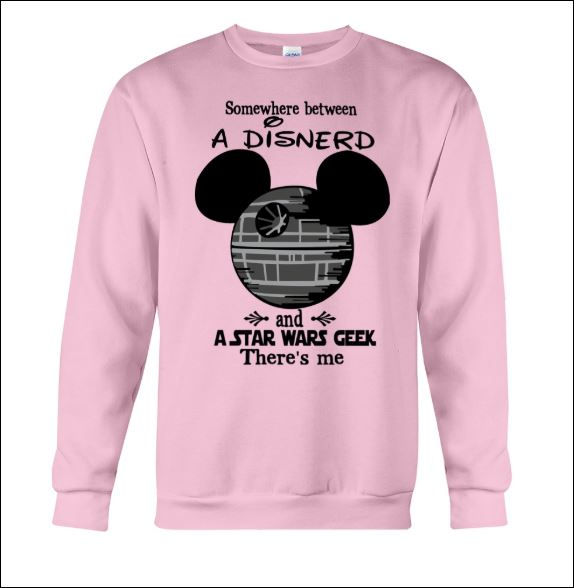 Somewhere between a disnerd and a Star Wars Geek there's me sweater