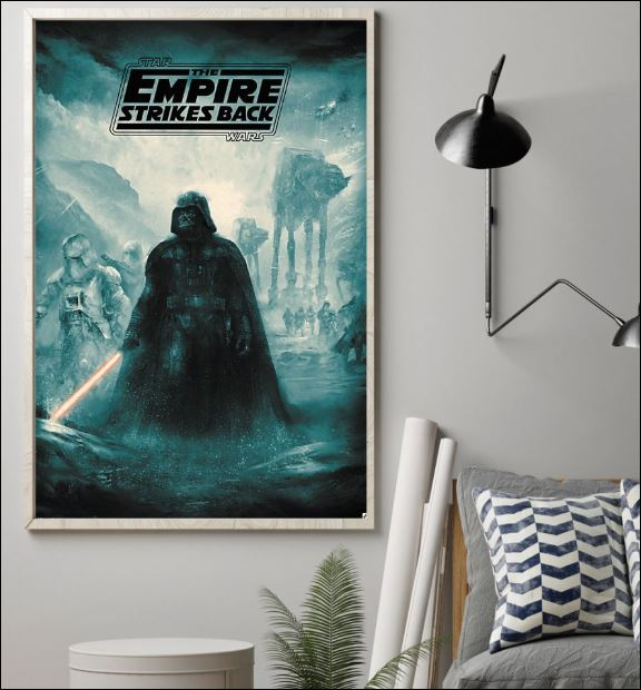 Star Wars the empire strikes back poster 1