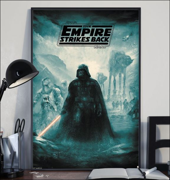 Star Wars the empire strikes back poster 2